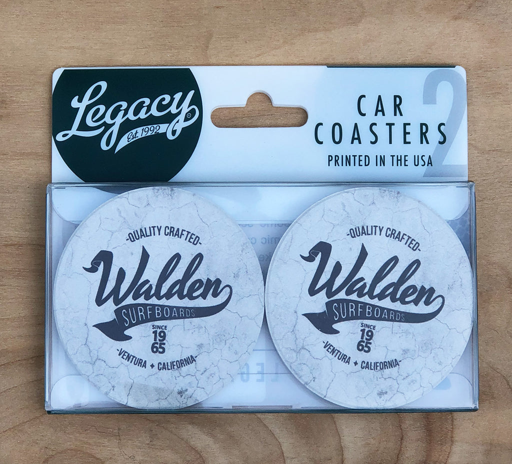 FINAL SALE Walden Car Coasters