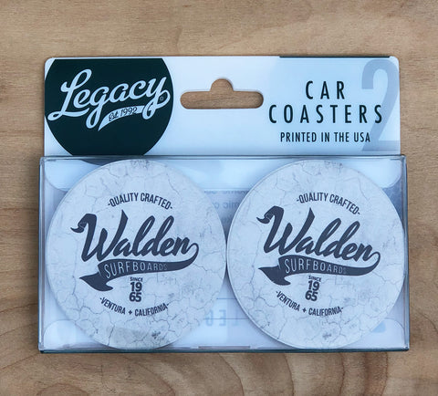 Walden Car Coasters