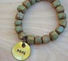 s/o Sale Simbi clay bead bracelet : copper