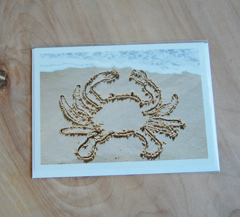 Sale: Sand Cards : Crab