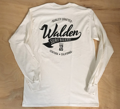 Banner Long Sleeve: Cream