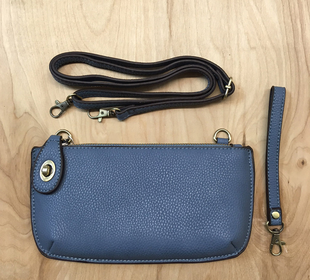 FINAL SALE  Wristlet clutch : Chambray