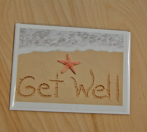 Sand Cards : Get Well