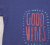 Sale Good Vibes t-shirt : Midnight