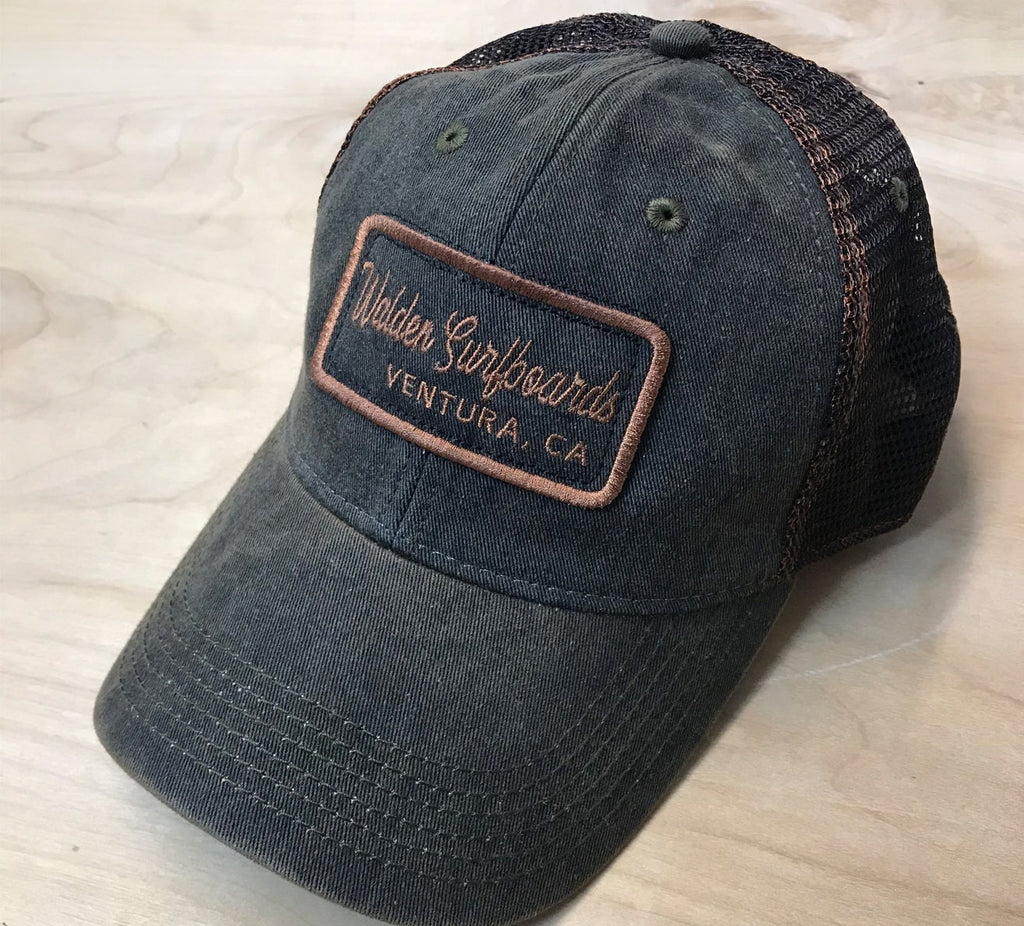 greaser trucker : black