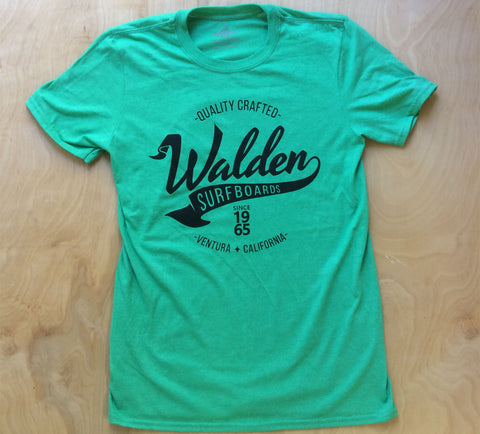 Walden Banner:  Green