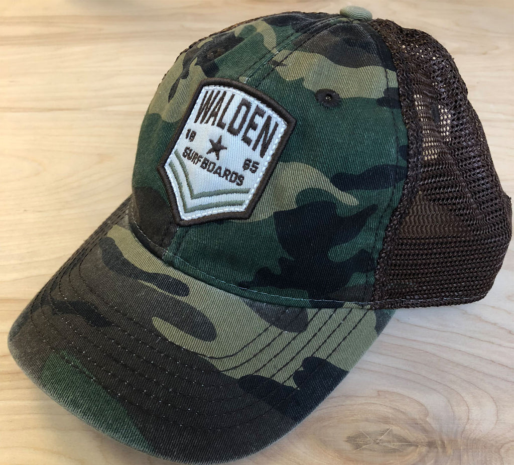 FINAL Sale Shield Trucker: camo