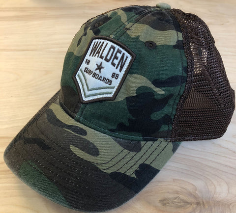 Sale Shield Trucker: camo
