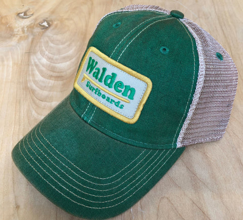 Single Fin Trucker : green