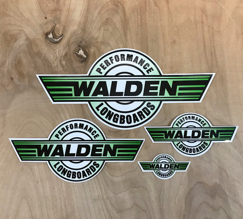 Walden Performance Stickers : Green