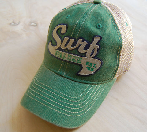 Surf College trucker : green