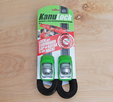 Kanu Lock and straps 8 ft.