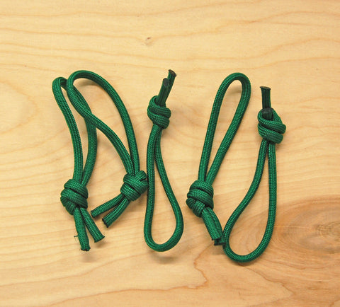 Leash Cords Green: 5 pack