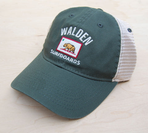 Sale California Walden Trucker : Olive