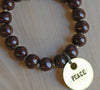 SALE Simbi clay bead bracelet : Java