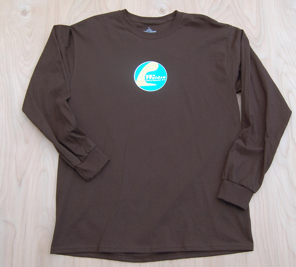 Sale Single fin longsleeve : Brown