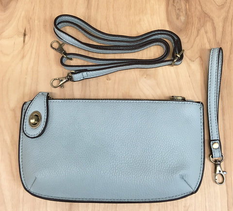 FINAL Sale Wristlet clutch : light blue