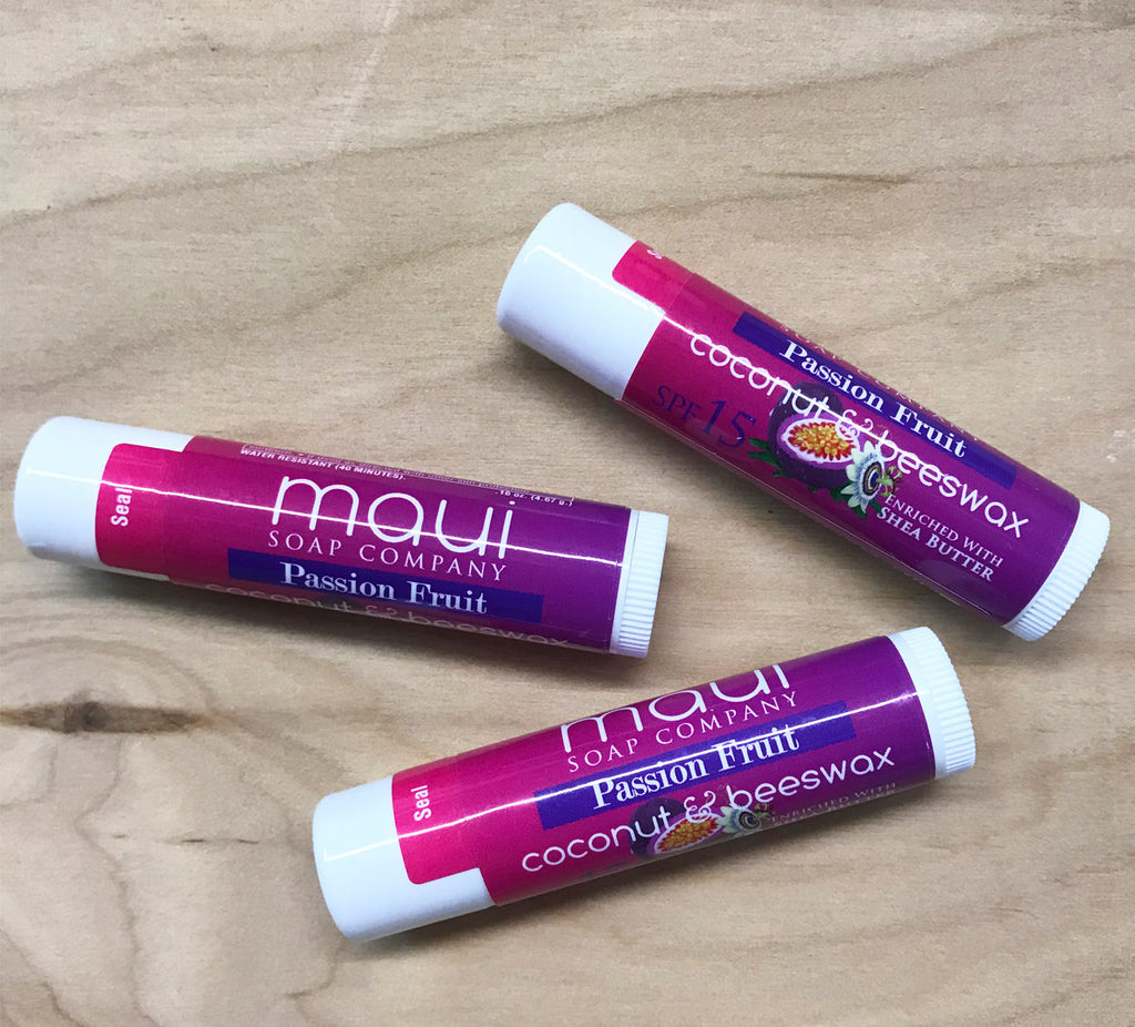 Maui soap lip balm: passion