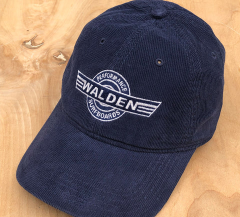 SALE Corduroy Hat: Navy