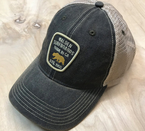Walden NPS trucker : Black