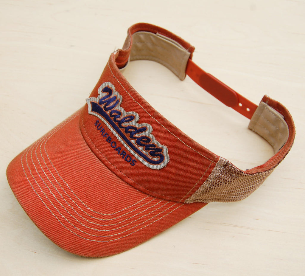 Sale Walden Tail Gator Visor : Orange