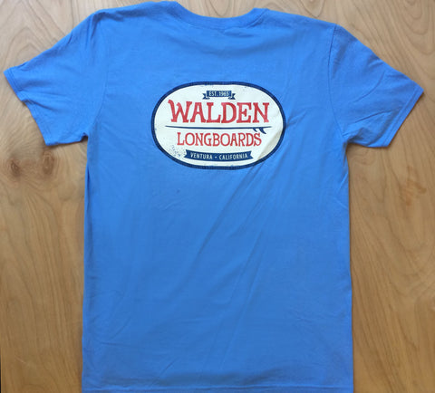 Walden Patch: blue