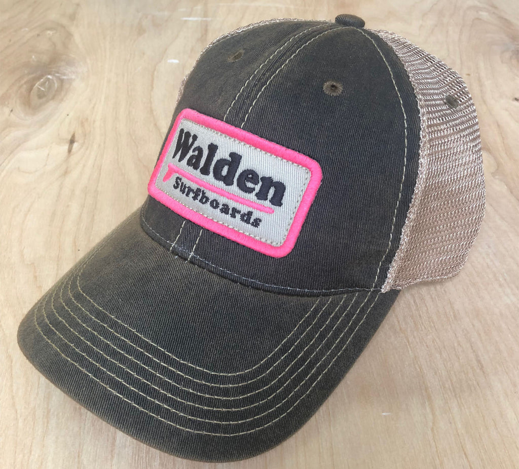 Sale Single Fin Trucker : Black