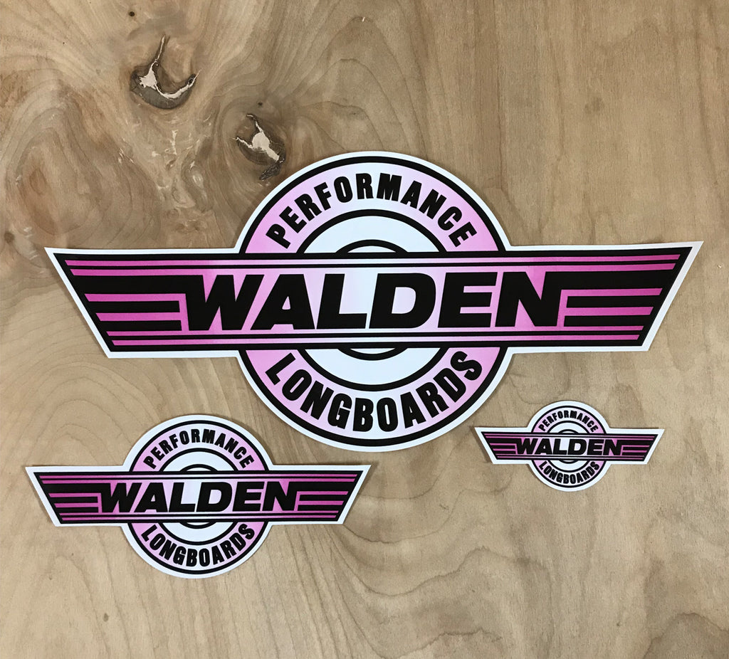 Walden Performance Stickers : Pink