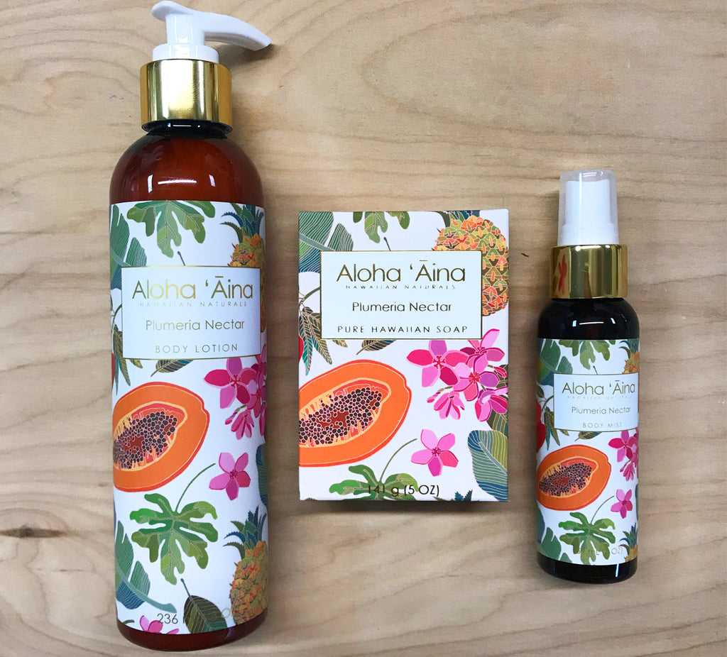 FINAL Sale Aloha Aina Body Mist : plumeria