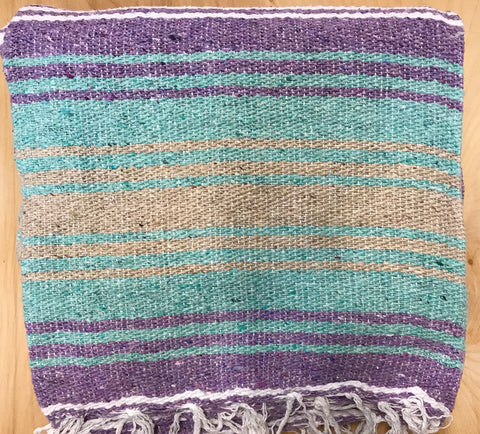 Mexican Blanket: purple-seafoam