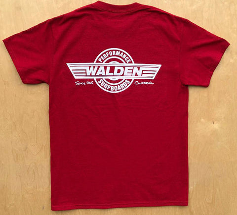 SALE Performance Logo : OS vintage red