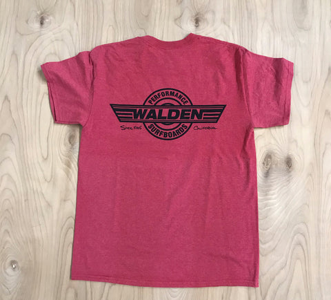 SALE: Performance Logo : OS heather red