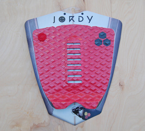 CI Jordy Smith 3 pc. pad : Red