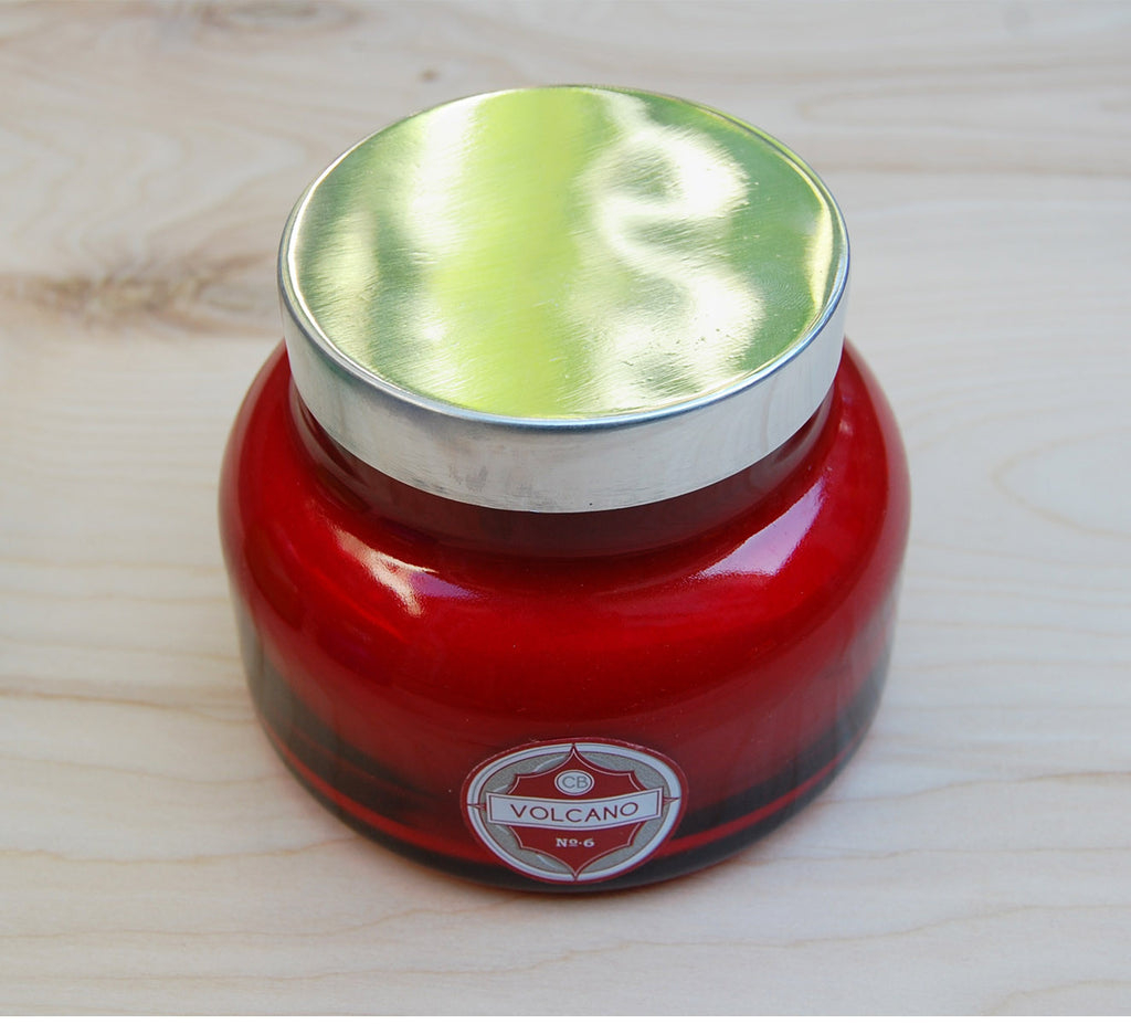 Capri Blue Volcano Candle : Red