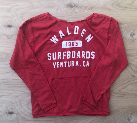 Walden Athletics:  Scoop red
