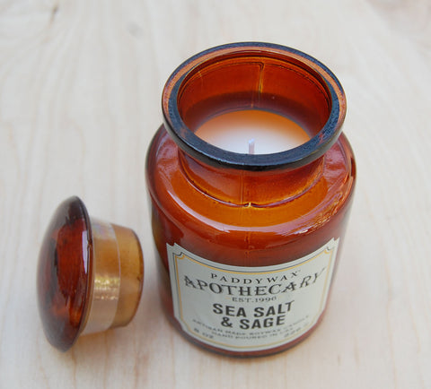 Sale  Sea Salt Apothecary Candle