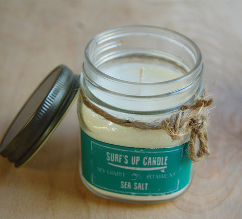 Surfs Up Candle : Sea Salt Medium