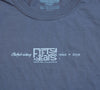 Sale 50th Silver Anniversary t-shirt : Grey Slim