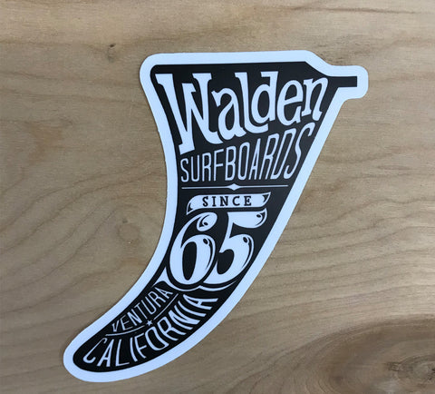 Walden big Fin Sticker