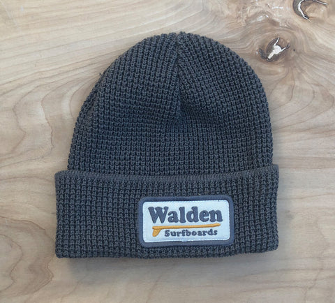 Single Fin Beanie : Grey