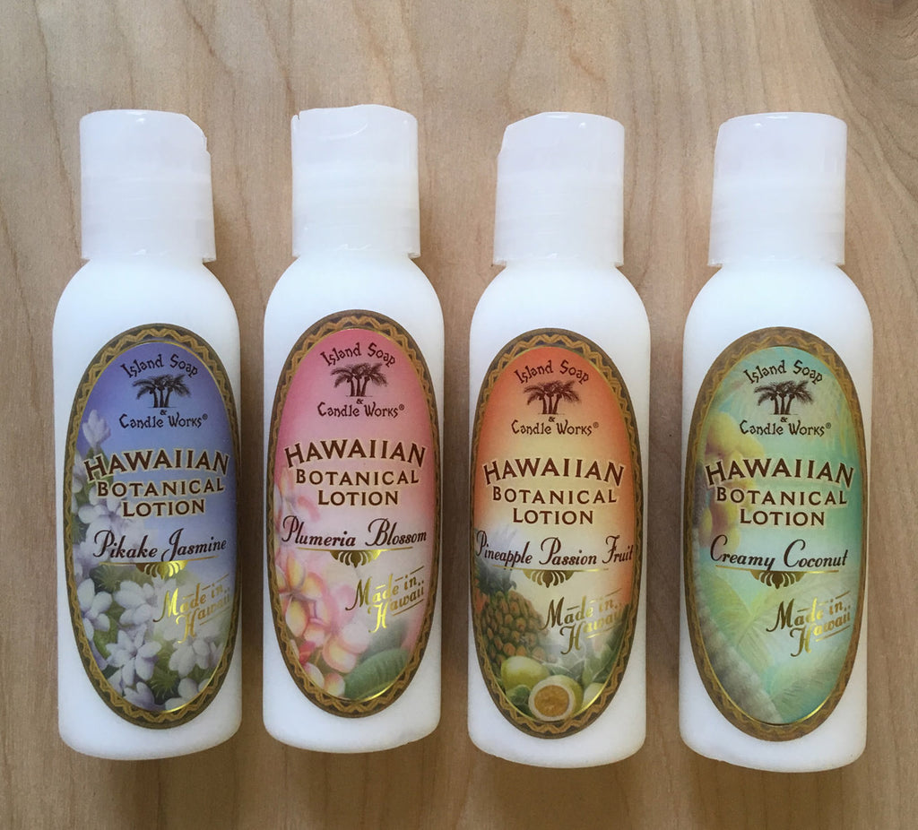 Island Soap lotion : travel size