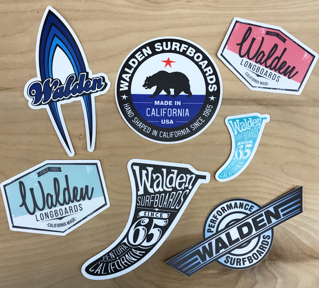 Walden Sticker Set