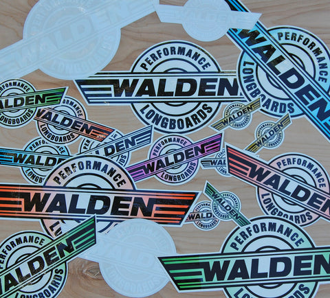Walden Performance Stickers : medium