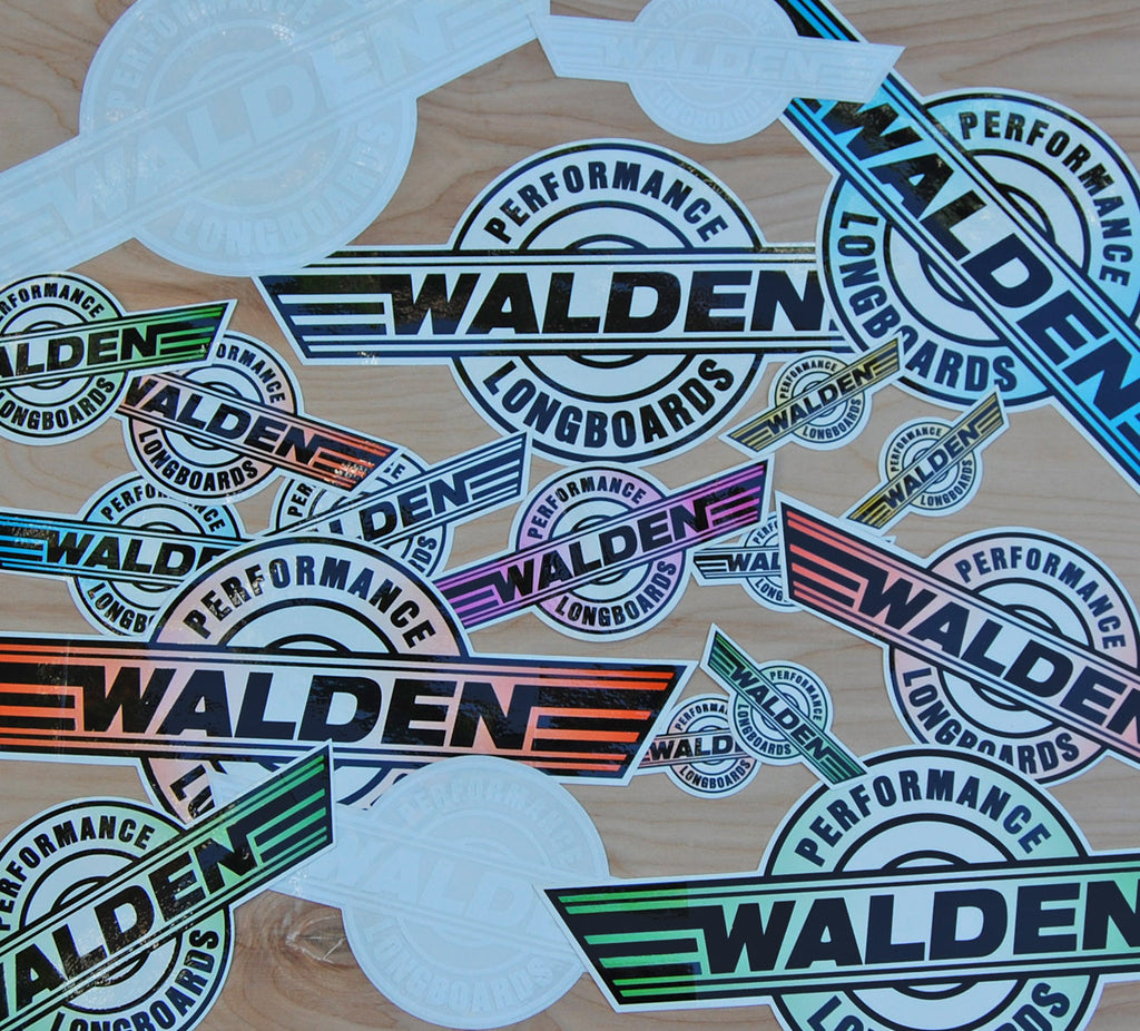 Walden Performance Stickers : XLarge