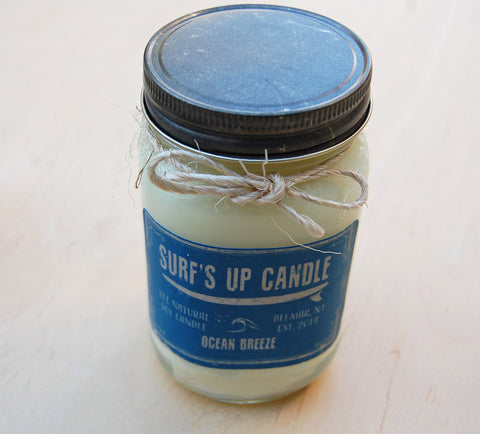 Surfs Up Candle : Ocean Breeze Large