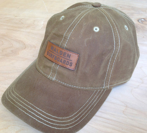 Walden Waxed hat: tan