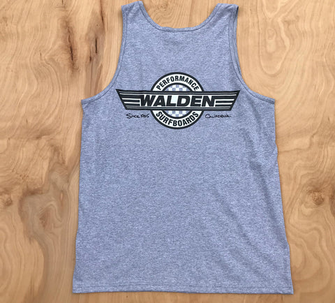 Sale Performance checker tank: gray