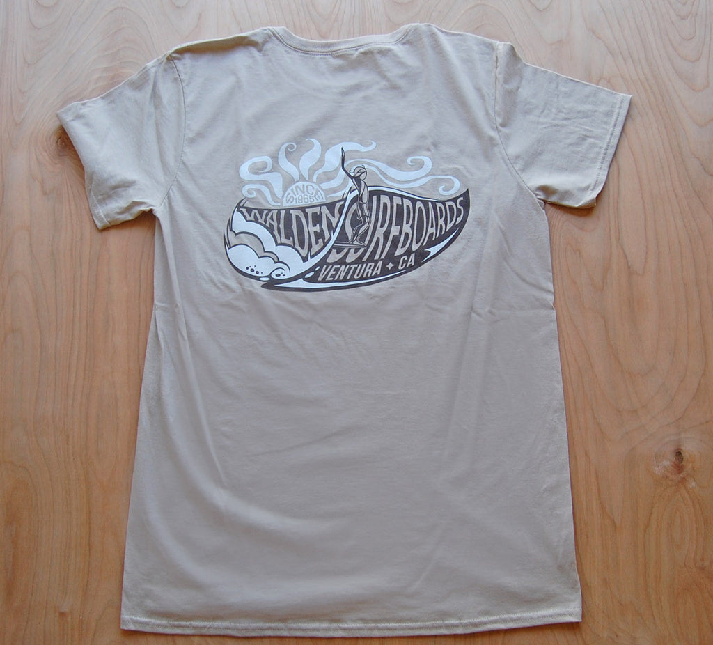SALE South Swell t-shirt: Tan