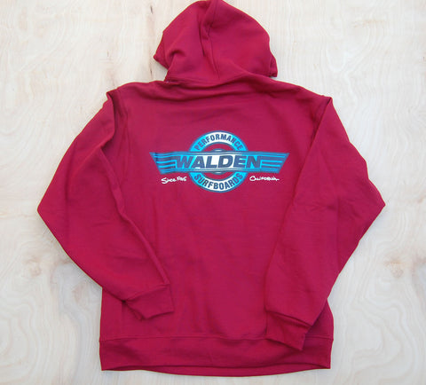 Sale Performance logo hoodie : Temple red