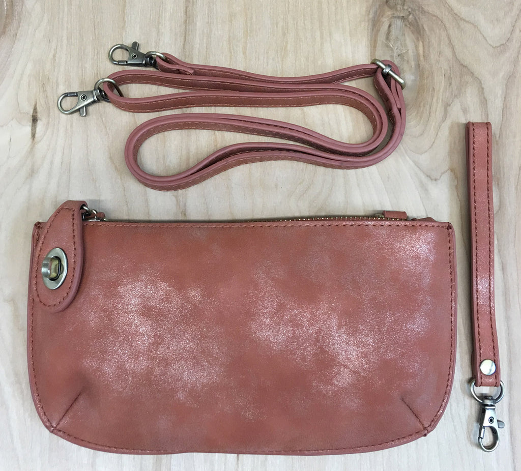 FINAL Sale Wristlet clutch : Coral Reef Lux